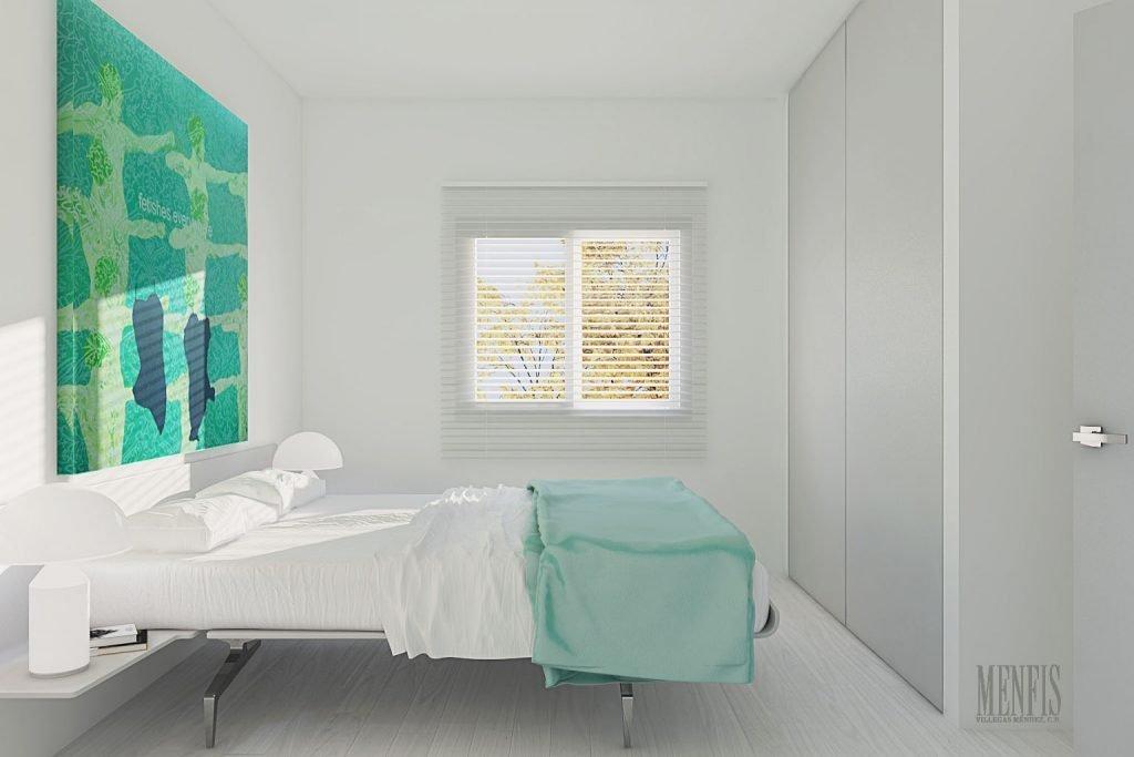 Reforma en Adra - Dormitorio